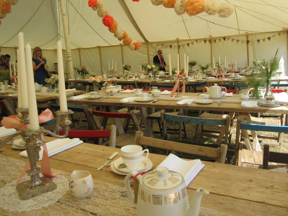 Load more & White Canvas Marquee Hire - Over The Moon Tents