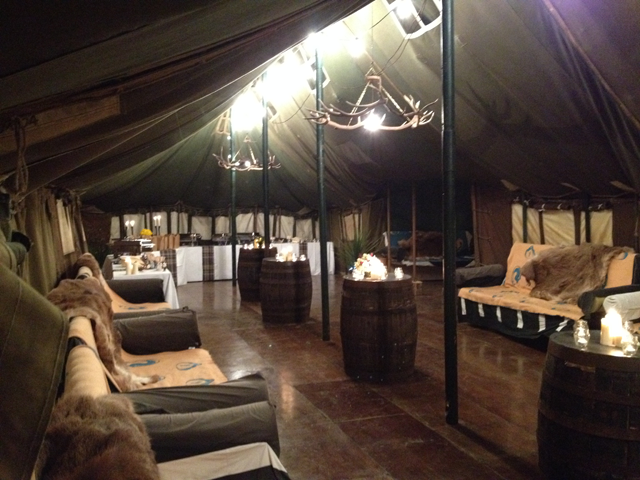 Vintage Military Tent Hire - Over The Moon Tents