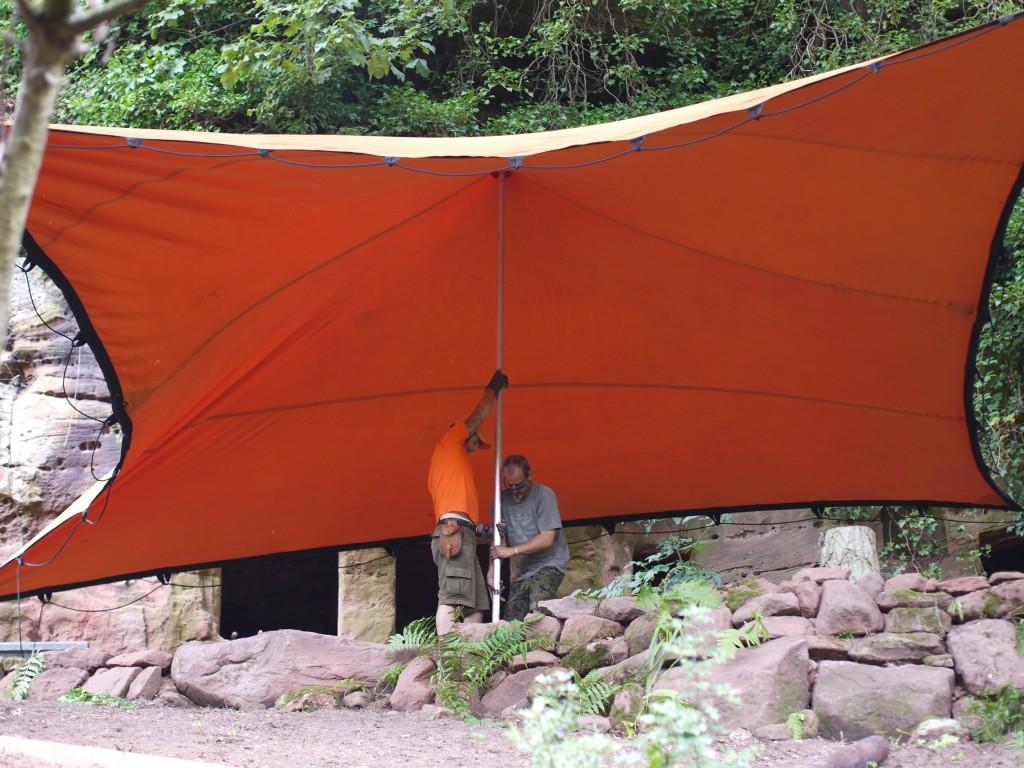 Rock House Pop Up Cinema Stretch Tent