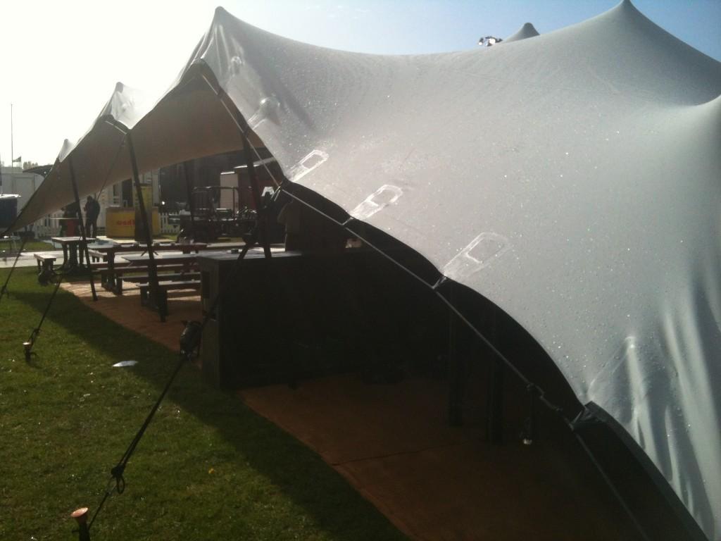 Stretch Tent at Showmans Show 2012