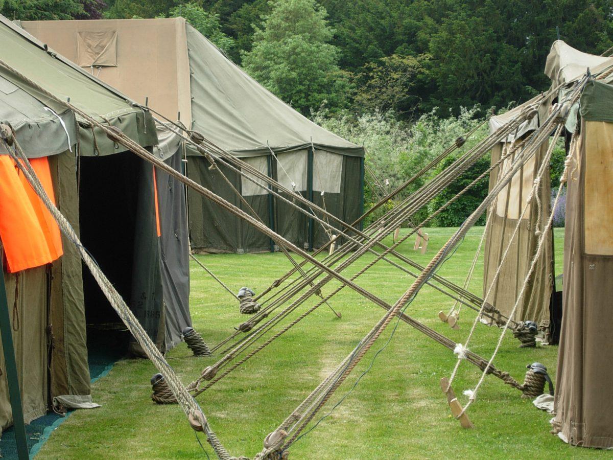 Vintage Tents for Diamond Jubilee Celebrations