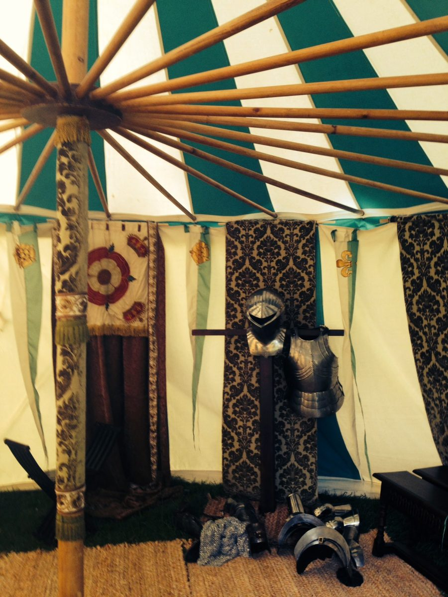 Medieval Tents in BBC Wolf Hall drama